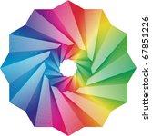 Swirl Rainbow Colors Spectrum