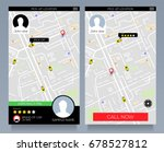 concept of location service.... | Shutterstock .eps vector #678527812
