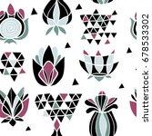 abstract seamless pattern.... | Shutterstock .eps vector #678533302