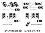 parking methods and ways.... | Shutterstock .eps vector #678539755