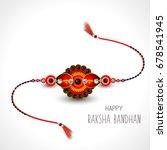 vector abstract for raksha... | Shutterstock .eps vector #678541945