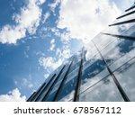 modern building architecture...   Shutterstock . vector #678567112