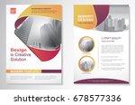 template vector design for... | Shutterstock .eps vector #678577336