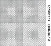 vector seamless pattern. modern ... | Shutterstock .eps vector #678605206