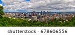 canada  montreal  skyline ... | Shutterstock . vector #678606556