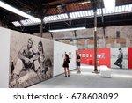 arles  france   july 09  2017 ... | Shutterstock . vector #678608092