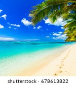 tropical getaway   perfect... | Shutterstock . vector #678613822