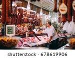 budapest  hungary   24 october  ...   Shutterstock . vector #678619906