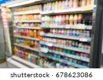 abstract blurred photo in...   Shutterstock . vector #678623086