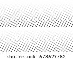 abstract halftone dotted... | Shutterstock .eps vector #678629782