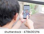bangkok  thailand   july 3 ... | Shutterstock . vector #678630196