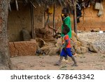 soga  guinea bissau   may 5 ... | Shutterstock . vector #678643342