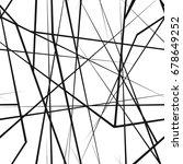 chaotic random lines seamless... | Shutterstock .eps vector #678649252