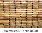wood timber construction... | Shutterstock . vector #678650338