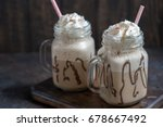 Cold Coffee Drink Frappe...