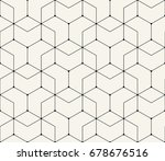 geometric pattern | Shutterstock .eps vector #678676516