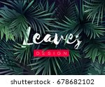bright tropical background with ... | Shutterstock .eps vector #678682102