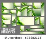 creative social media header or ... | Shutterstock .eps vector #678683116
