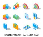 business elements for web... | Shutterstock .eps vector #678685462