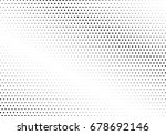 abstract halftone dotted... | Shutterstock .eps vector #678692146