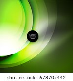 digital illustration  glowing... | Shutterstock . vector #678705442