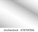 abstract halftone dotted... | Shutterstock .eps vector #678709306