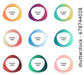 set of colorful banners vector...