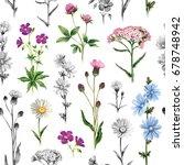 watercolor illustrations of... | Shutterstock . vector #678748942