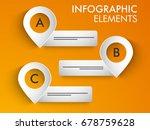 creative infographic element...   Shutterstock .eps vector #678759628