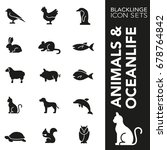 Blacklinge Animals And Ocean...