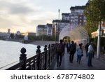 anonymous crowd of people... | Shutterstock . vector #678774802