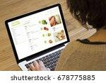 online shopping concept  online ... | Shutterstock . vector #678775885