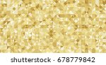gold gradient geometric...   Shutterstock .eps vector #678779842