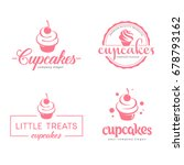 vector logo design template.... | Shutterstock .eps vector #678793162