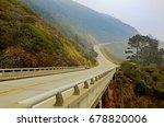california highway 1   june...   Shutterstock . vector #678820006