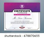 multipurpose modern... | Shutterstock .eps vector #678870655
