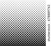 monochrome square pattern... | Shutterstock .eps vector #678889762