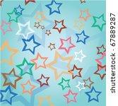 stars background | Shutterstock .eps vector #67889287