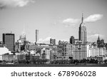 the empire state building in...   Shutterstock . vector #678906028