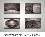 vector vintage set of business...   Shutterstock .eps vector #678915262