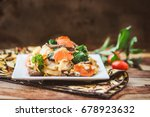 Small photo of Drunken Noodles, Asian cuisine, table cloth, food on table, main dish, keen, klee, mao