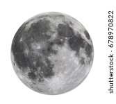 full moon isolated  elements of ... | Shutterstock . vector #678970822