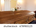 funeral and mourning concept  ... | Shutterstock . vector #678983125