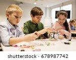 education  children  technology ... | Shutterstock . vector #678987742