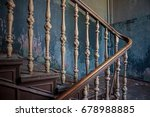 Old Vintage Stairs With...