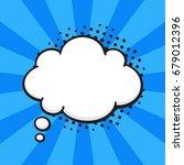 vector illustration. comic... | Shutterstock .eps vector #679012396