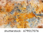 old rust texture. grunge rusted ... | Shutterstock . vector #679017076