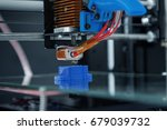 electronic three dimensional... | Shutterstock . vector #679039732