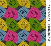 bright geometrical seamless... | Shutterstock .eps vector #679047562