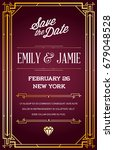 great quality style invitation...   Shutterstock . vector #679048528